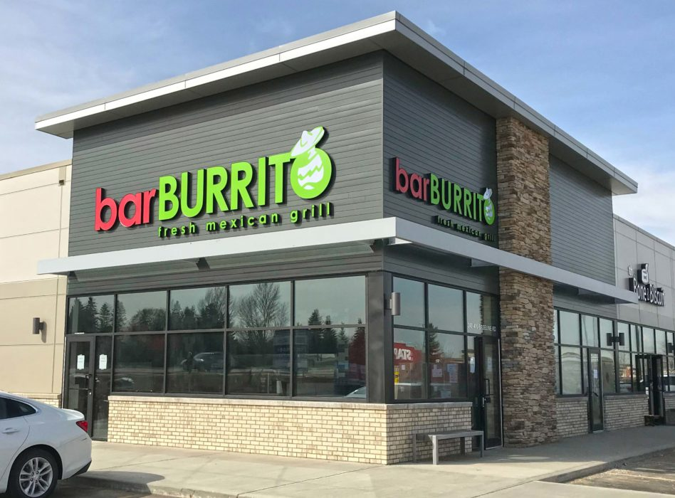 Bar Burrito location exterior