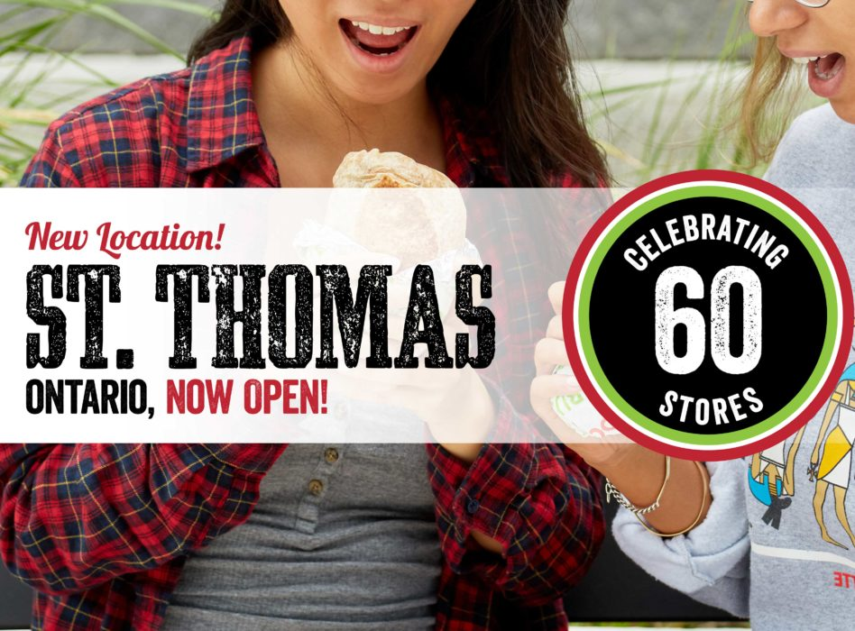 New Location! St. Thomas Ontario, Now Open!